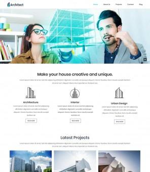 Architect - Architecture Studio Free WordPress Theme