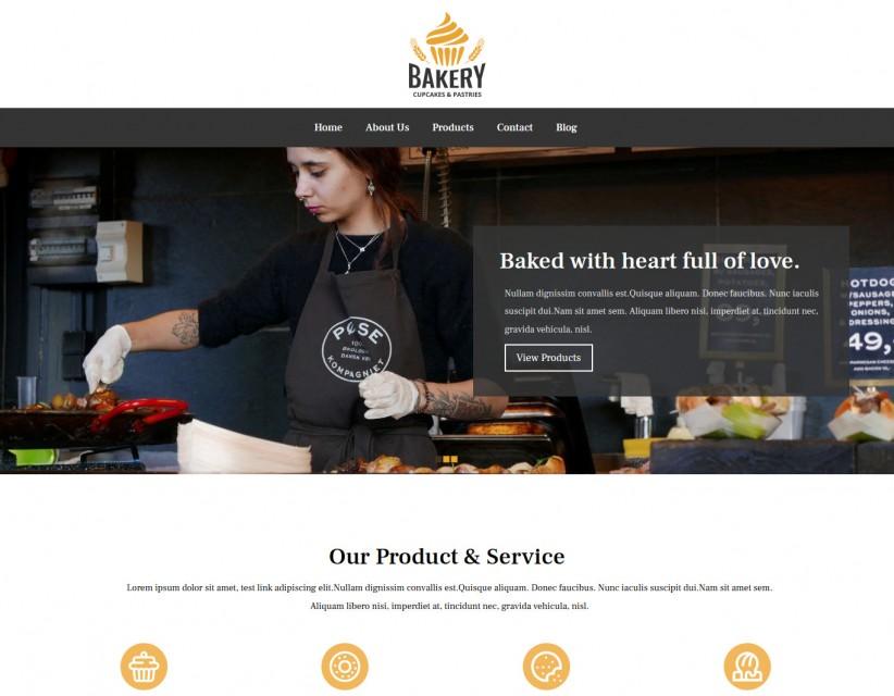 Bakery - Bakery Responsive WordPress Theme