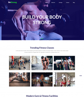 BeStrong - Gym Responsive Drupal Theme