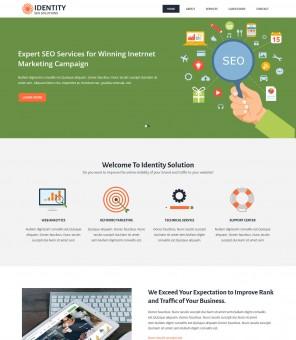 Identity - Digital Marketing/SEO WordPress Theme