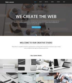Web Canons - Corporate WordPress Theme for Web Agency/Studio
