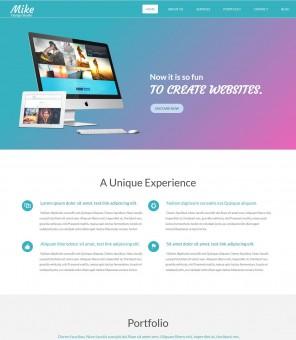 Mike - Creative Web Design Studio WordPress Theme