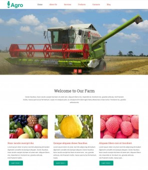 Agro - Free WordPress Theme for Farms & Agriculture