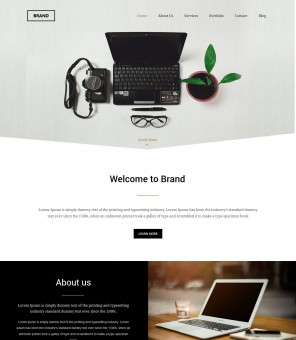Brand - WordPress Theme for Brand Management Companies