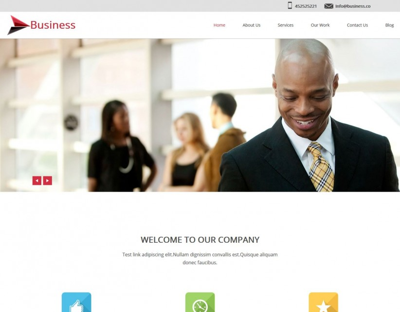 Business Octane - Business/Marketing WordPress Theme