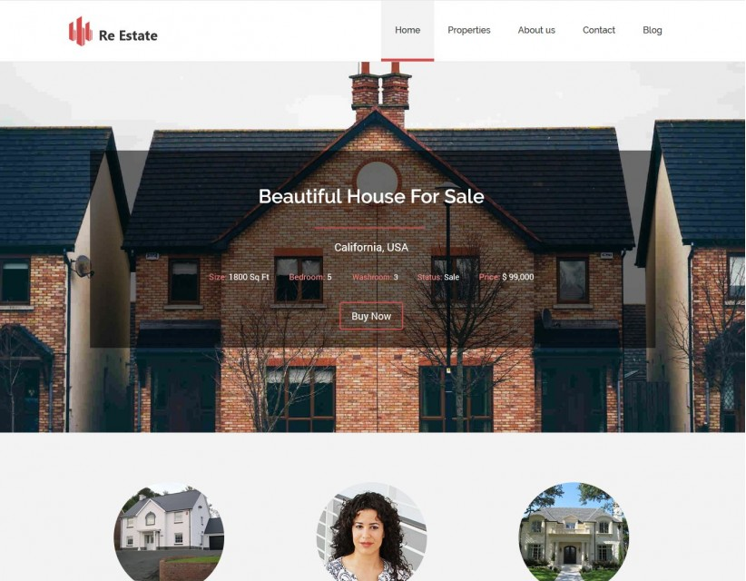 Re-Estate - Real Estate Premium WordPress Theme