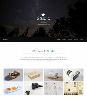 Studio - Creative WordPress Theme of Photography Studio