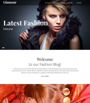 Glamour - Stylish/Elegent WordPress Glamour Theme