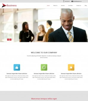 Business Octane - Business/Marketing Joomla Template