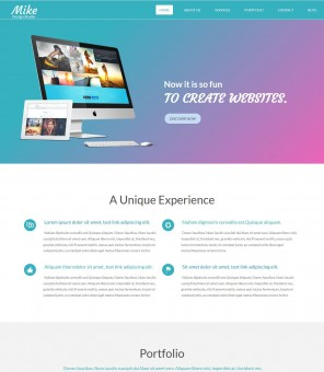 Mike - Creative Web Design Studio Joomla Template