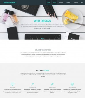 Picassa Design - Multipurpose Web Design Joomla Template