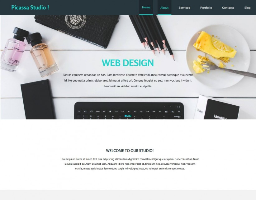 Picassa Design - Multipurpose Web Design Joomla Template