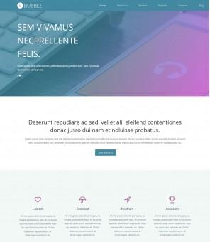 Bubble - Premium Drupal Theme for Web Design