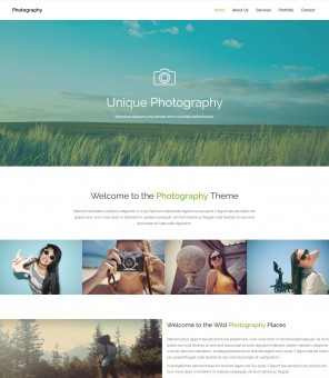 Photography - Creative Drupal Theme for Photography Studio