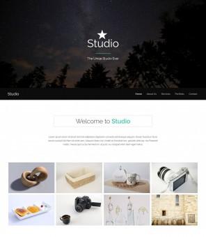 Studio - Creative Drupal Theme of Photography Studio