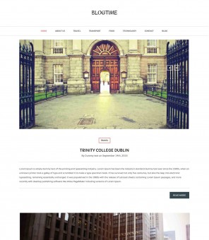Blog Time - Unique Creative Drupal Theme for Blog
