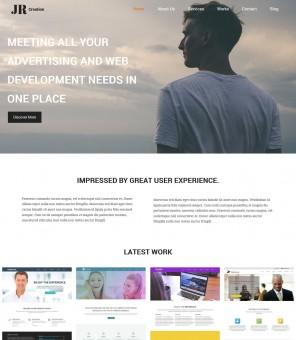 JR Creation - Drupal Theme for Web Designer And Developer