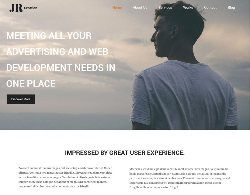JR Creation - Drupal Theme for Web Designer And Developer