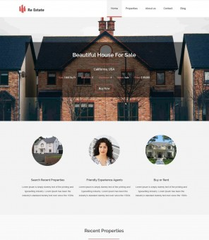 Re-Estate - Premium Real-Estate Drupal Theme