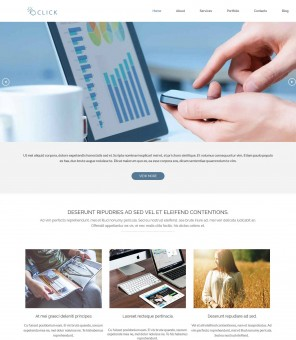 Click - Drupal Theme for Web Agencies/Studio
