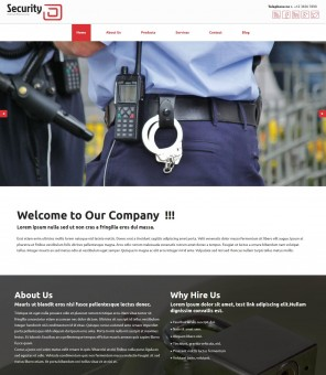 Professional Security- Responsive Drupal Theme for Security Agency
