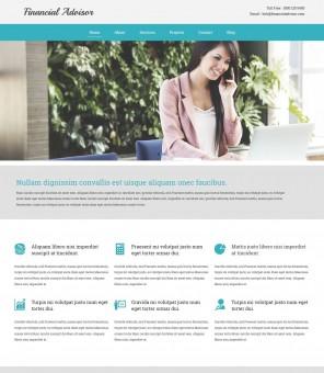 Finance Advisor - Drupal Theme for Finance Advisor/Company