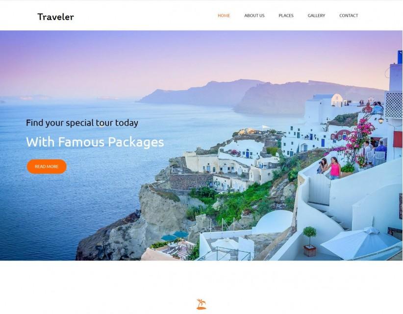 Traveler - Unique Drupal Tour/Travel Agency Theme