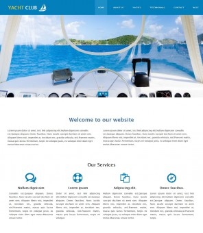 Yacht Club - Professional Sports/Yatch Club Drupal Theme