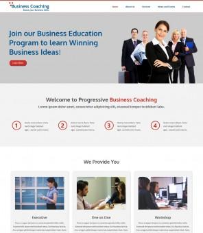 Business Coaching - Responsive Drupal Theme for Business Coaching