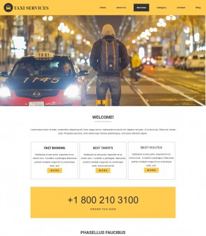 Taxi - Professional Drupal Theme for Taxi Services