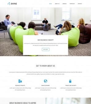 Shine - Responsive Business Advisor Drupal Theme