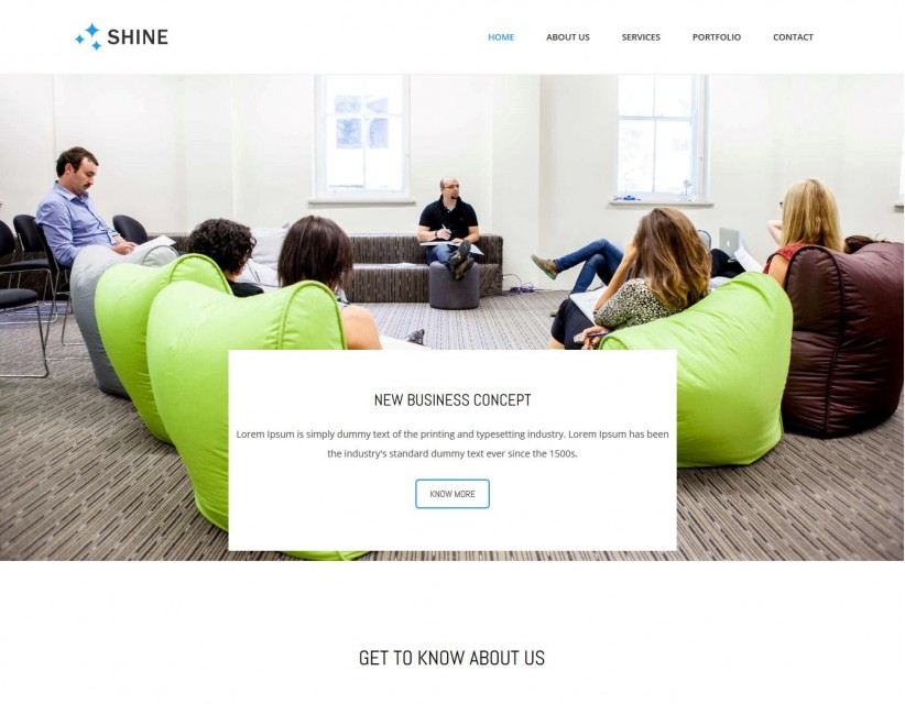 Shine - Responsive Business Advisor Drupal Theme