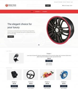Auto Care - Automobile Accessories Store Magento Responsive Theme