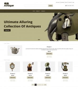 Antique - Antique Products Responsive Magento Theme