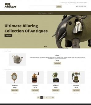 Antique - Antique Products Prestashop Responsive Theme
