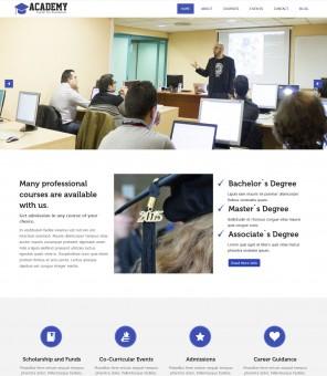 Academy - Education/University Drupal Theme