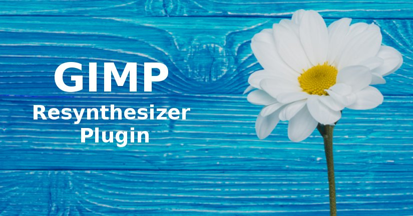 GIMP resynthesizer plugin Blog