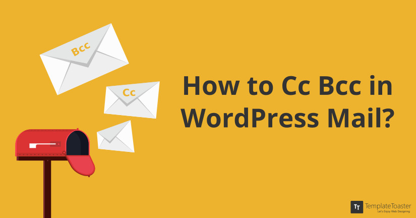 Bcc in WordPress Mail