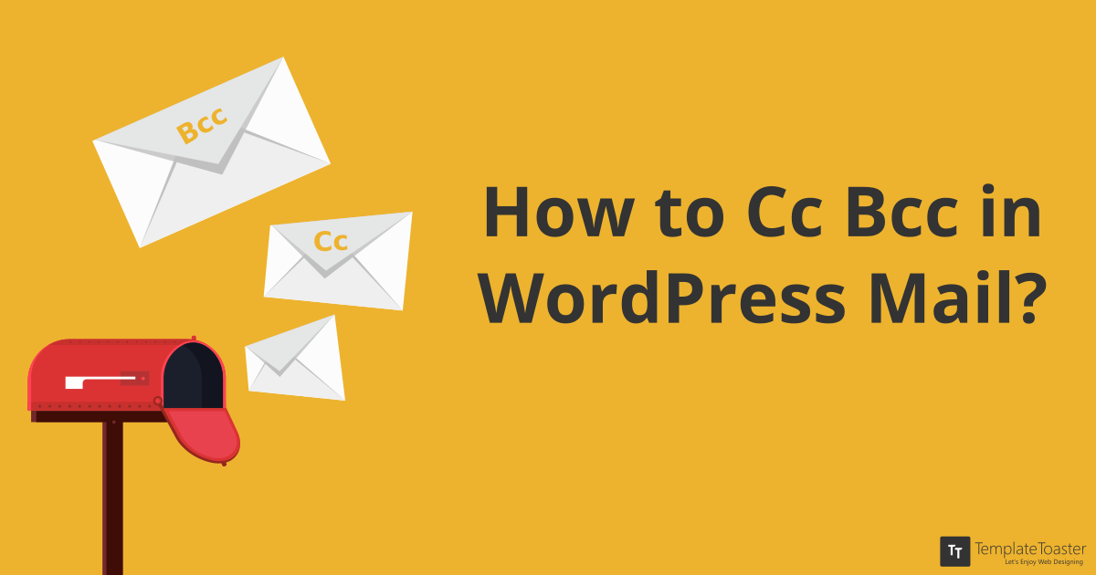How to Add Multi-Recipients by CC, BCC in WordPress Mail