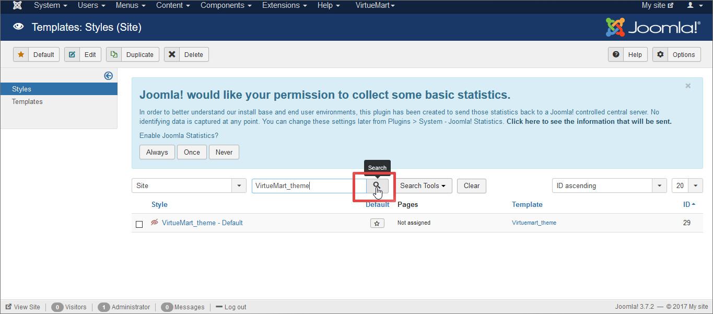 Upload Install And Configure Virtuemart Templates Templatetoaster