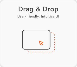 responsive Drag and Drop website builder