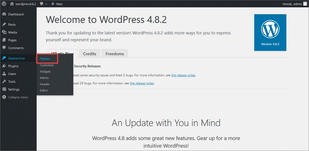 Upload_Install_WooCommerce_WordPress_Theme_step1