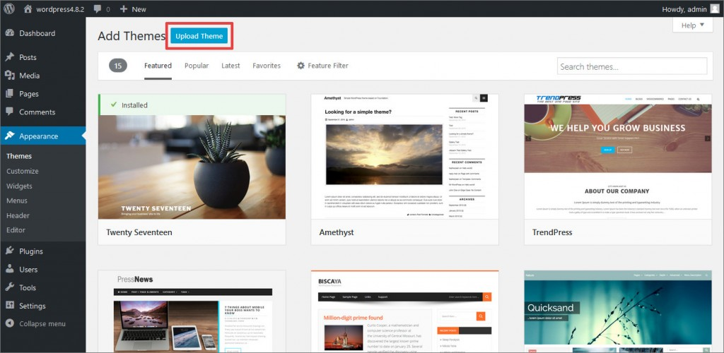 Upload_Install_WooCommerce_WordPress_Theme_step3
