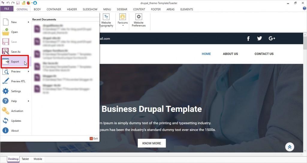 drupal_theme_export_upload_instructions_step_1