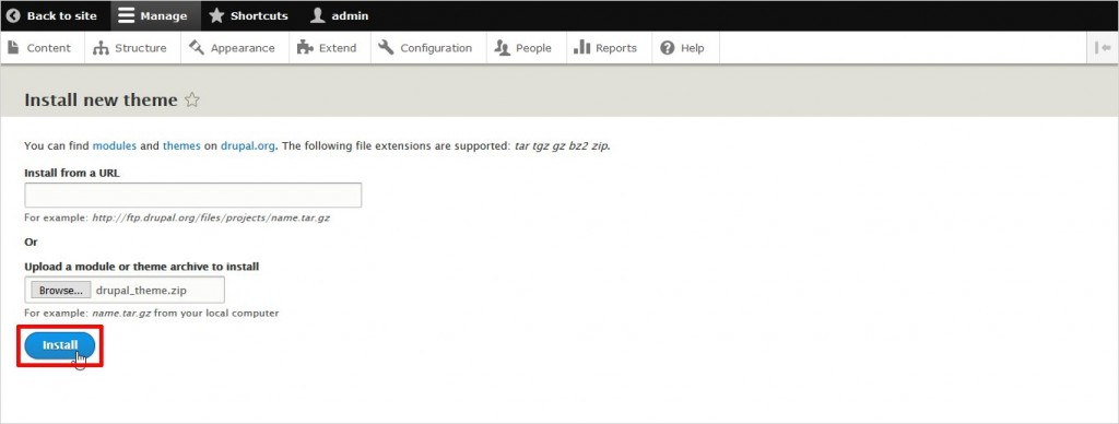 drupal_theme_export_upload_instructions_step_5