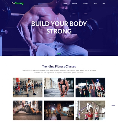 modify gym template