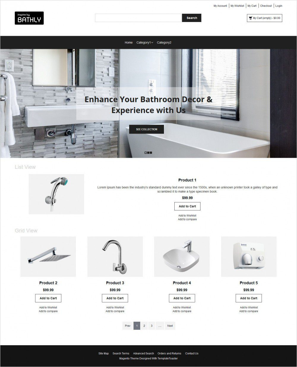 bathly magento theme