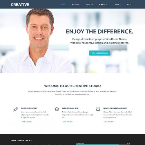 Creative - Premium Web Design Joomla Template