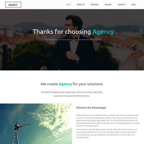 agency creative and simple joomla template
