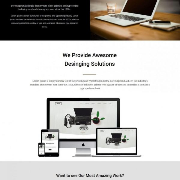 brand joomla template for brand management companies